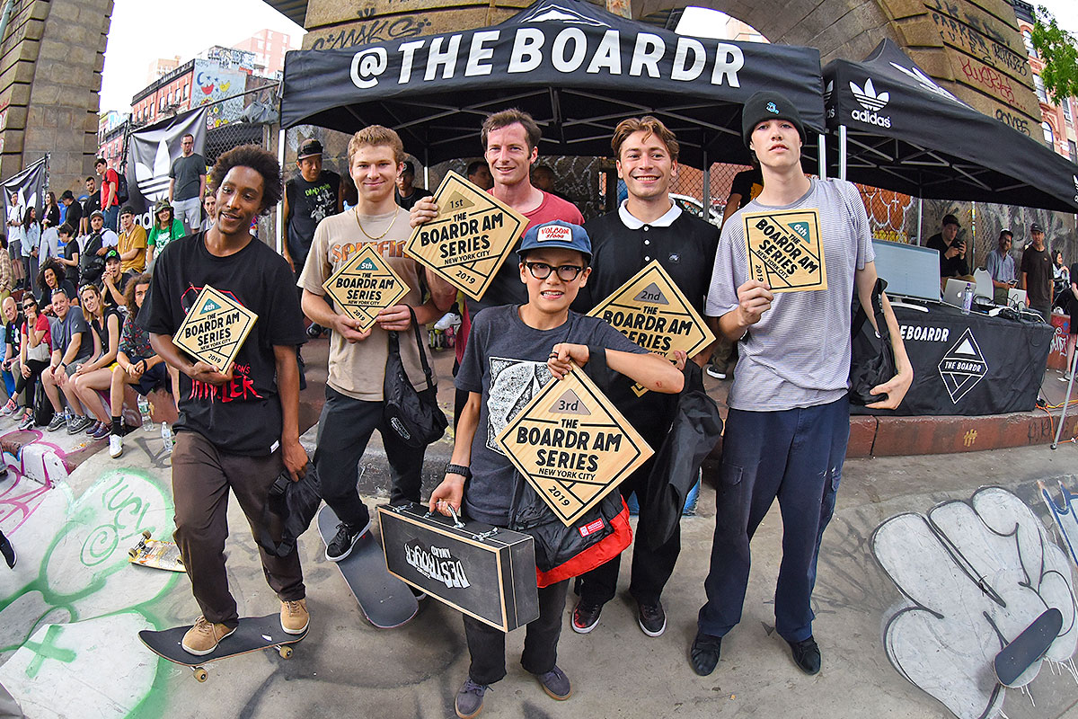 The Boardr Am at NYC - Winners.