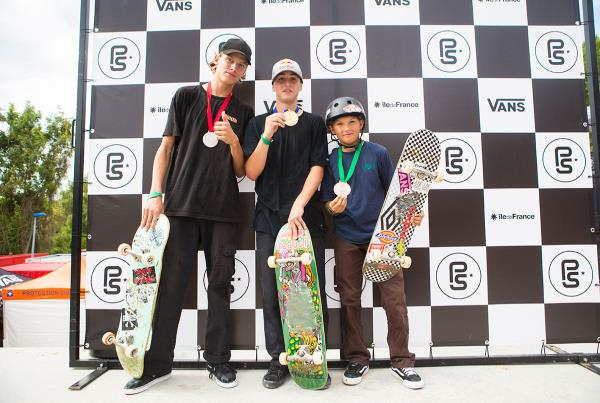 Vans Park Series France - Alessandro Mazzara Wins Mens