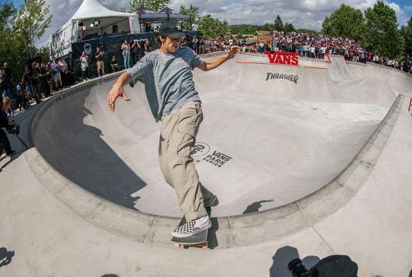 Vans Park Series France - Cory Front Board