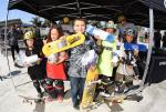 Top skaters from the Street 9 and Under Division