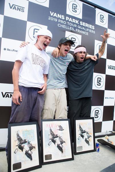Vans Park Series France - Congrats.