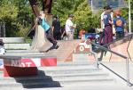 Amanda Castillo with the wallride.