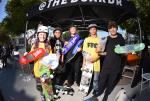 Top skaters from Street 10 to 12 Division.