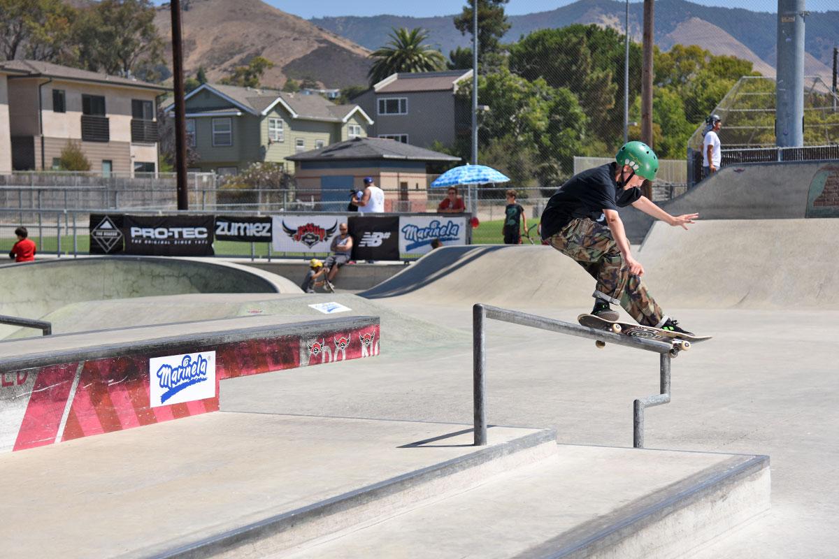 GFL at San Luis Obispo -  Front Feeble.