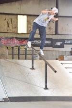 Max Peterson with the back blunt.