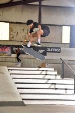 Deon Harris has a beautiful 3 flip.