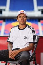 Felipe Gustavo at the Red Bull Arena in NYC