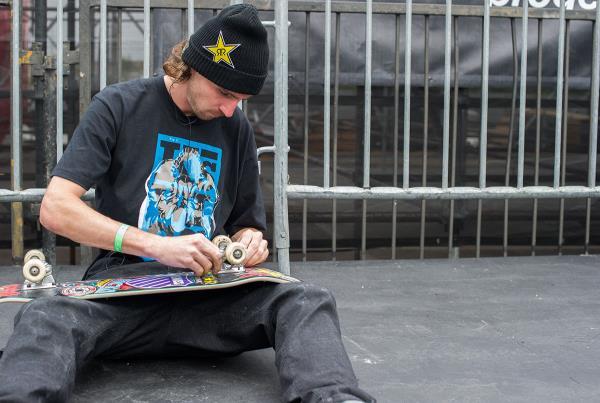 Greg Lutzka at Street League