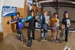 Top skaters from the Street 9 and Under Division.