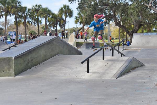 GFL St. Pete Florida 2020 - Shiloh Boardslide.