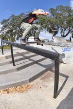 Noah Pollard bringing back the noseslide.