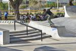 Back 180 nosegrind from Keenan