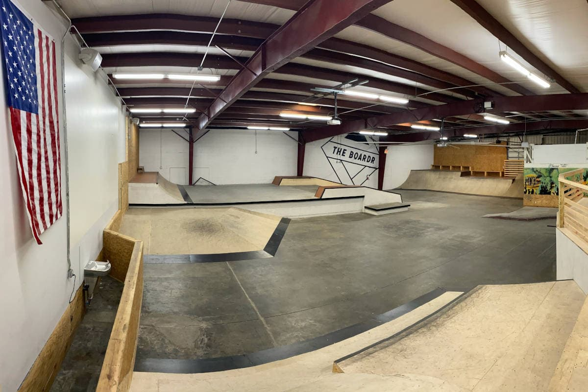 Private Warehouse Action Sports Facility for Rent