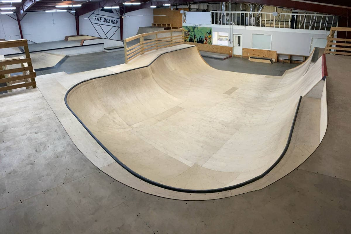 The Bowl at The Boardr HQ Private Skatepark
