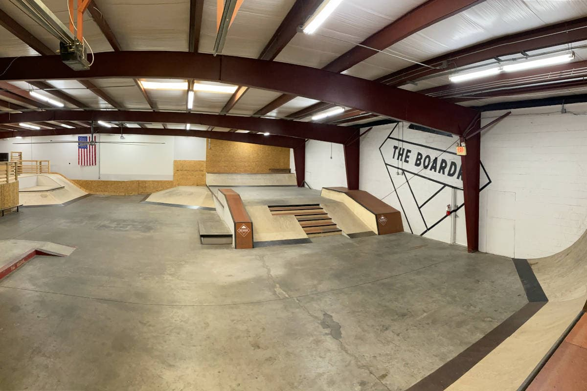 The Hubba at The Boardr HQ Private Skatepark