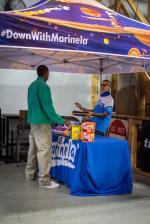 GFL Series at Fort Lauderdale 2020 - Ryan at the Tent