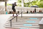 First Annual Miami Open - Desmond White Nollie Heel Back Lip