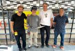 Paul Zitzer and Ryan Clements and Tony Hawk and Rob Meronek