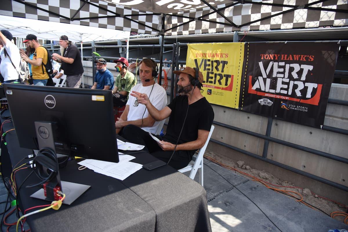 Tony Hawk Vert Alert - Tony Hawk and Paul Zitzer