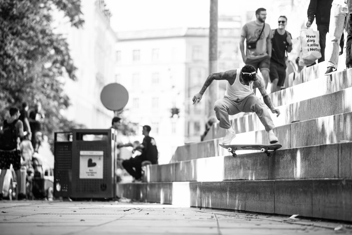 Copenhagen 2021 - Luan Kickflip Noseslide