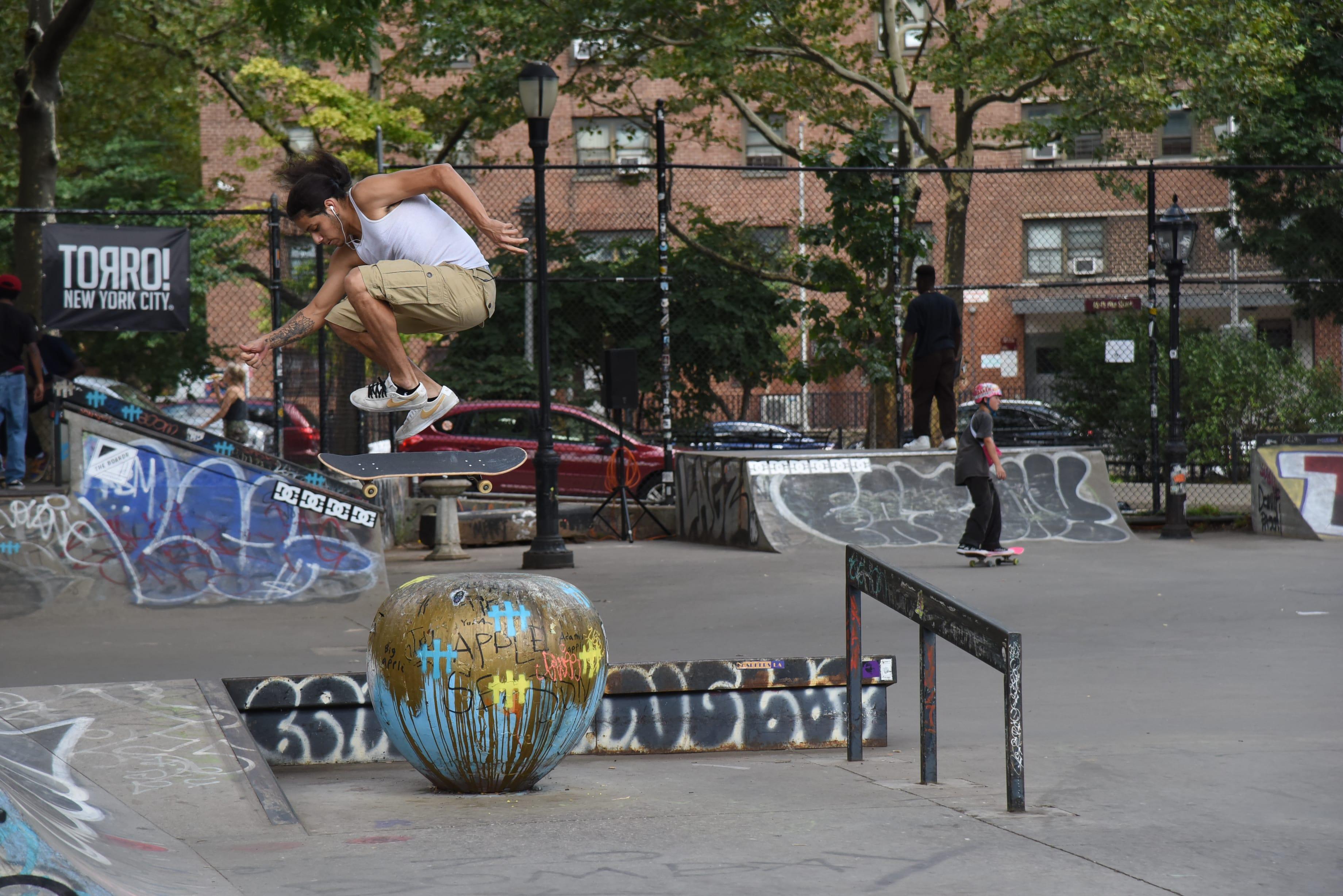 The Boardr Open - Mikey Sanchez Double Hardflip
