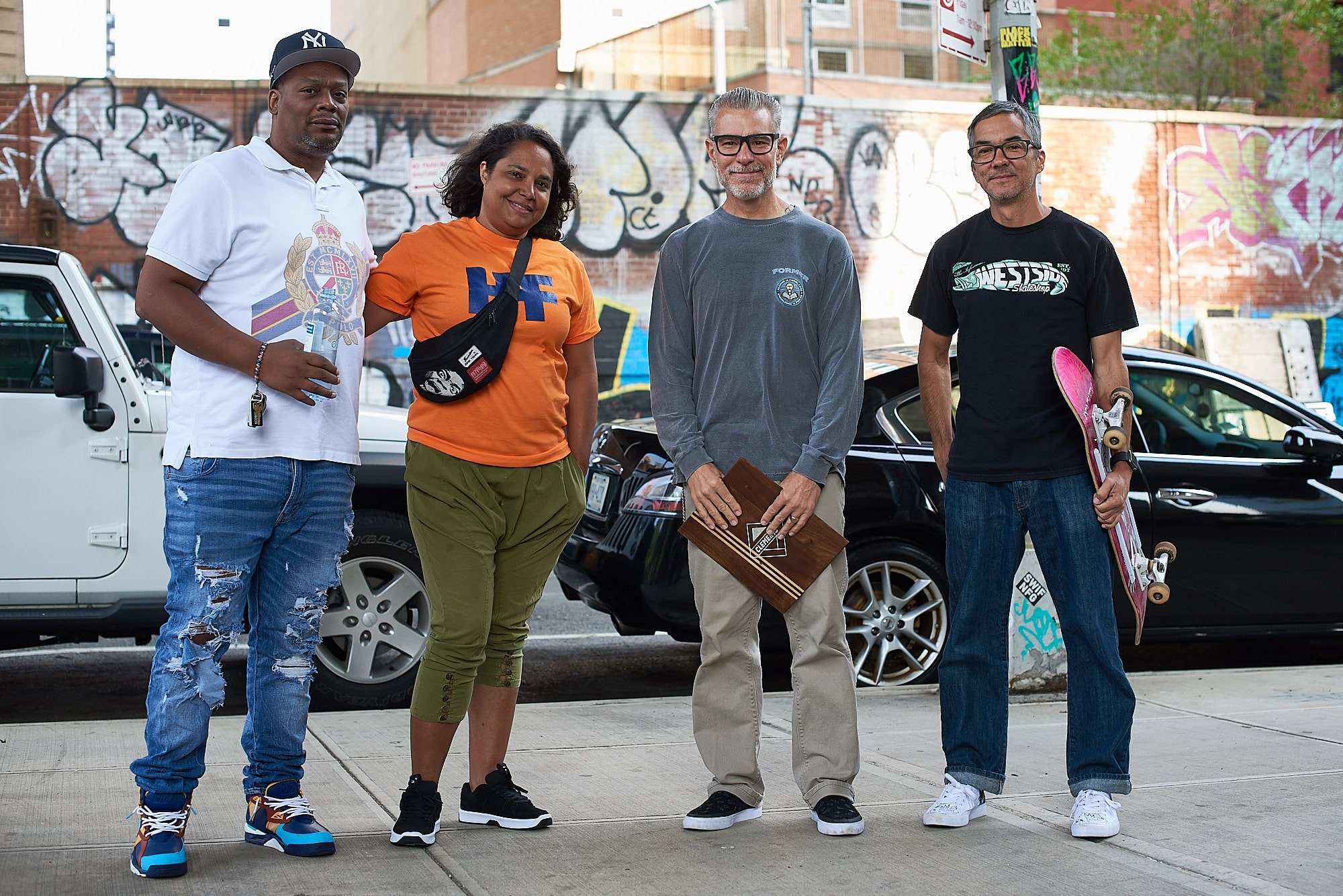 Harold Hunter Day - Jessica, Ryan Clements, and Rob Meronek