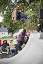 Des Moines Streetstyle Open 2021 - Frontside Flip Lazer