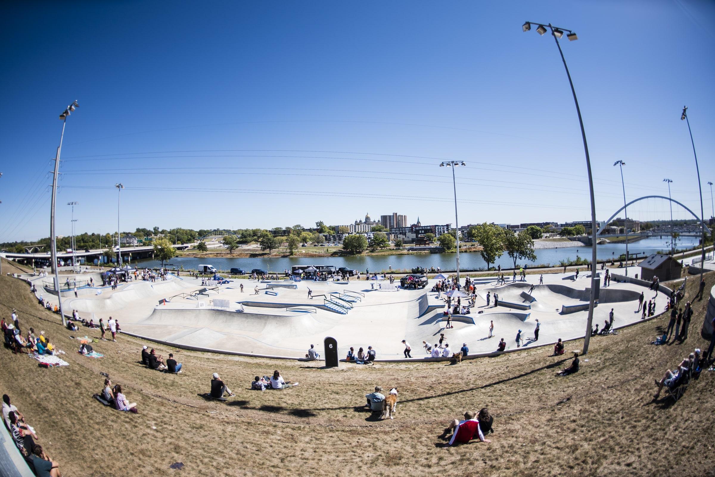 Des Moines Streetstyle Open 2021 - Skatepark