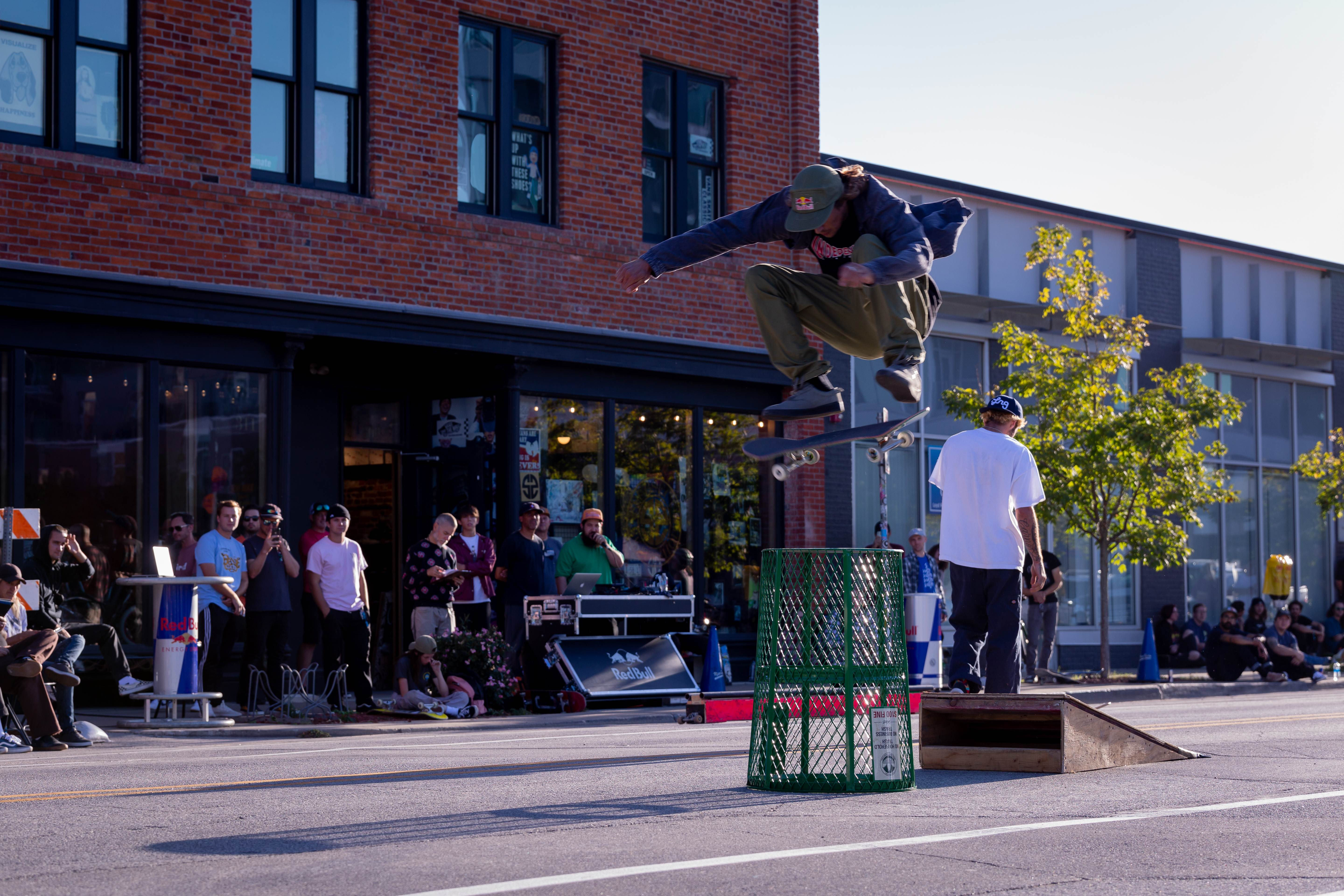 Des Moines Streetstyle Open 2021 - Frontside Flip the Can