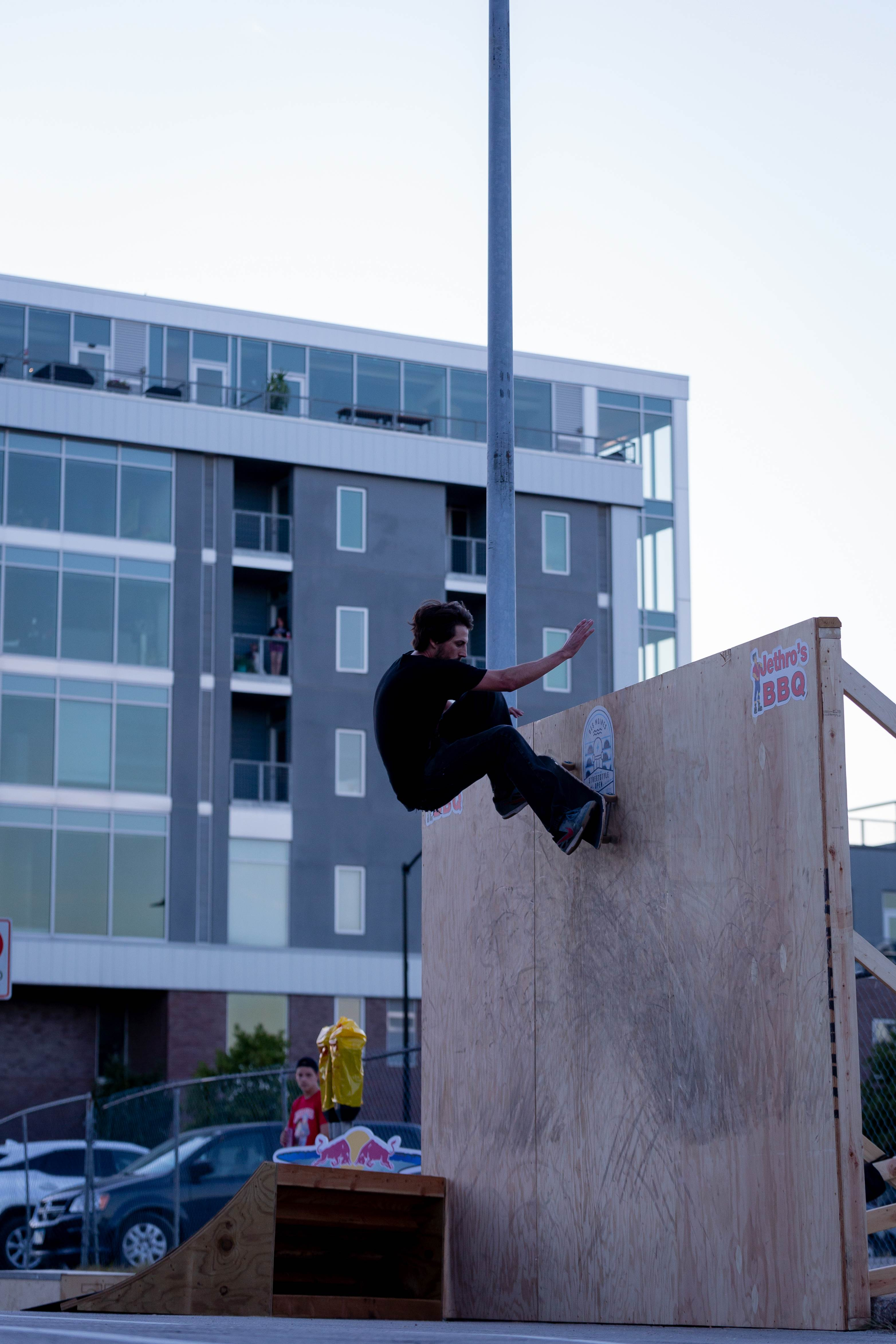 Des Moines Streetstyle Open 2021 - Ollie to Wall