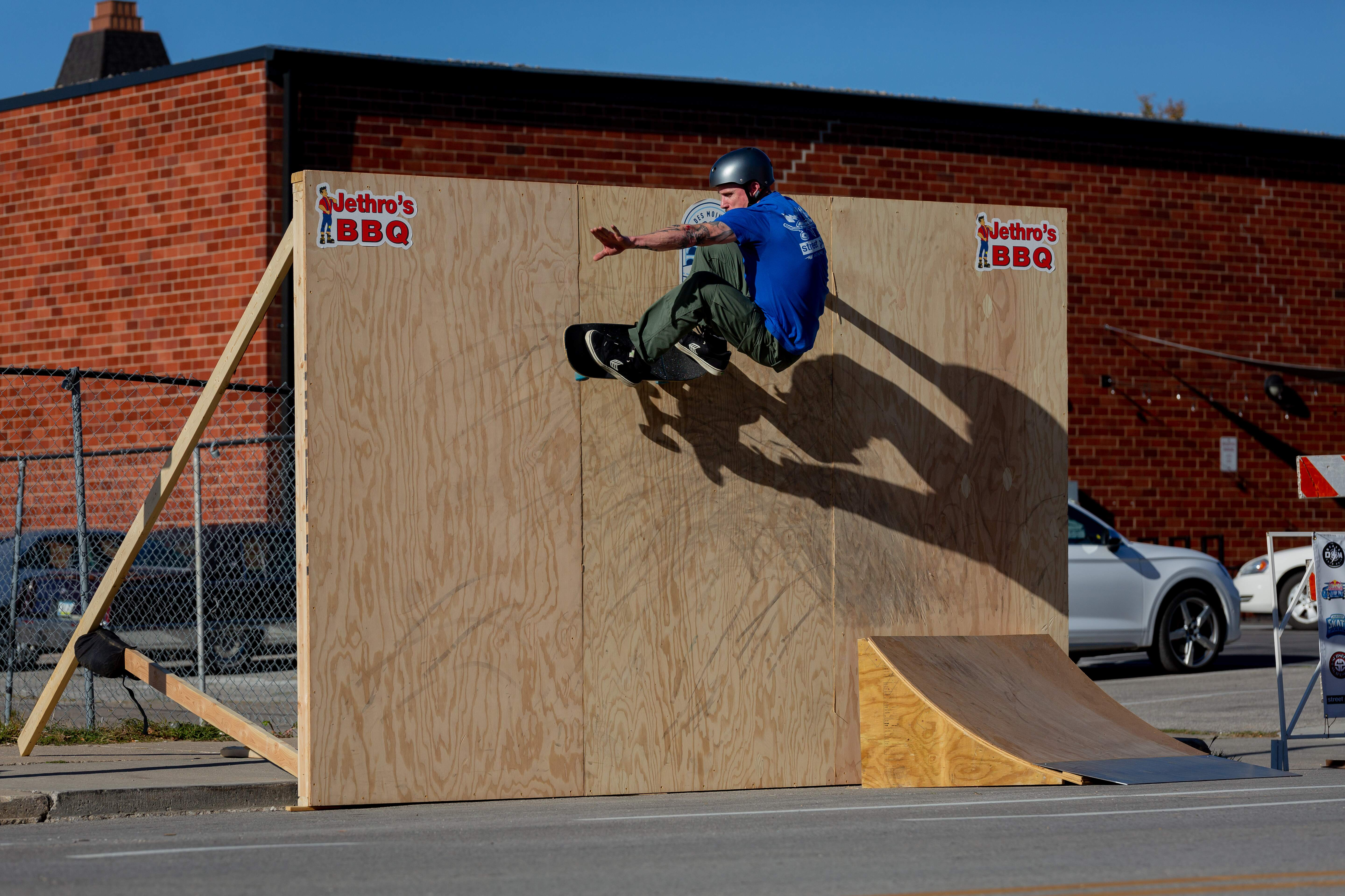 Des Moines Streetstyle Open 2021 - Mike V on the Wall