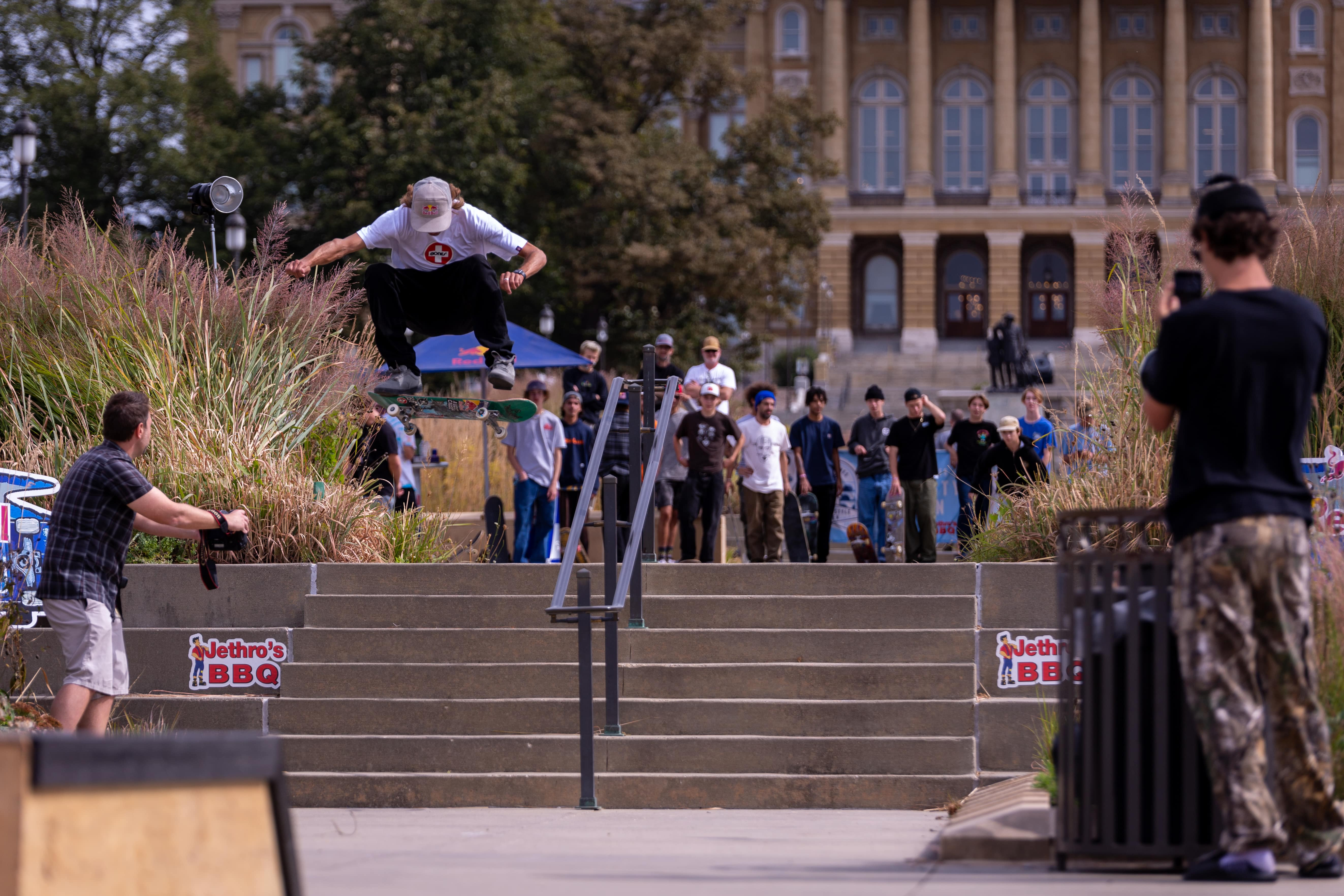Des Moines Streetstyle Open 2021 - Decenzo Frontside Flip