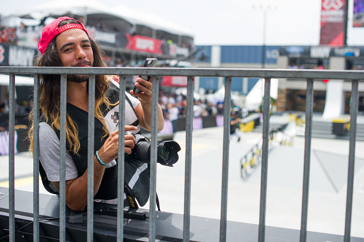 Porpe Official Photographer at X Games