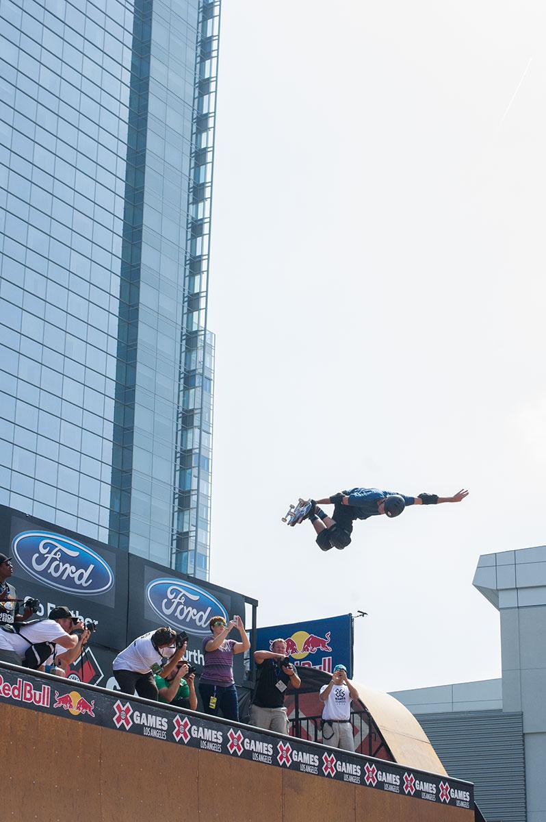 Tony Hawk at X Games Los Angeles