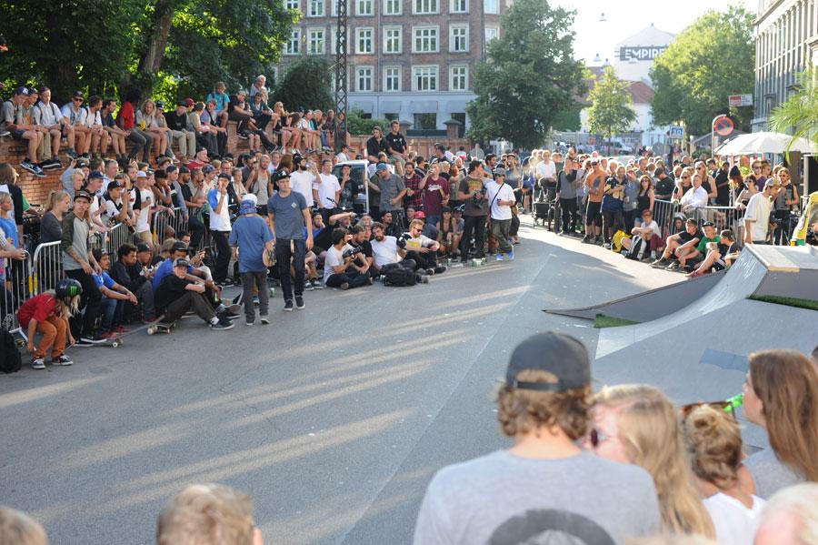 The Crowd at Copenhagen Pro
