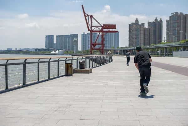 The Best Skateboarding Ground in the World in Shanghai