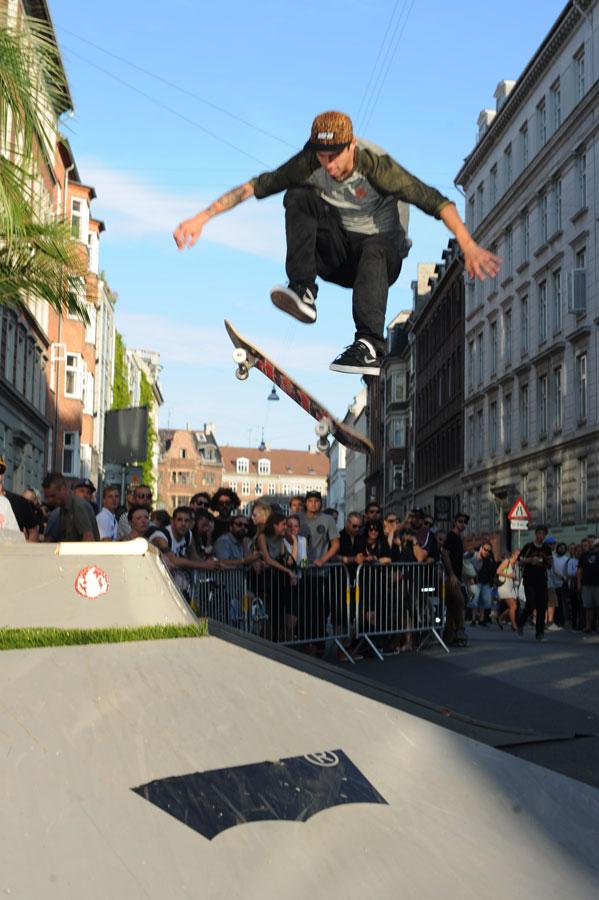 Luan Oliveira 360 Flip in Copenhagen