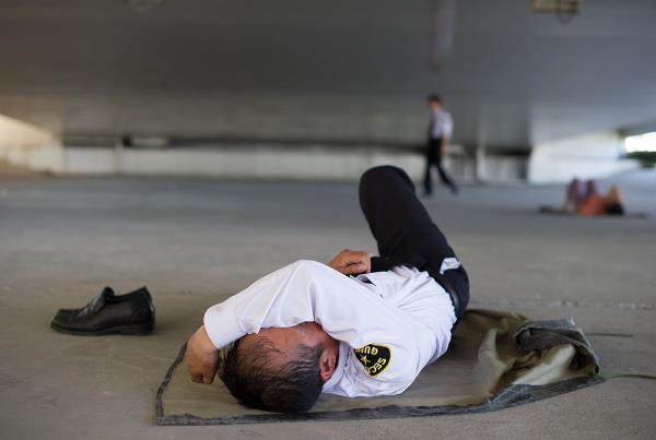 Skateboard Security in Shanghai