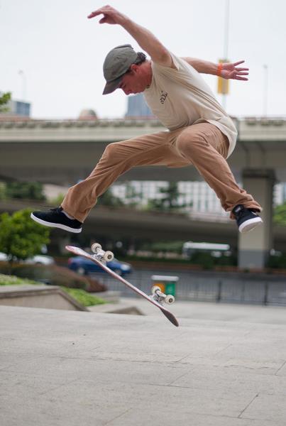 James Craig 360 Flip in Shanghai
