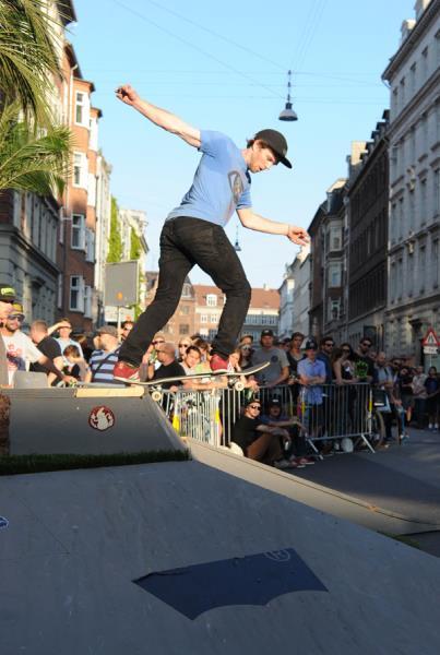 Silas Backside Tailslide in Copenhagen