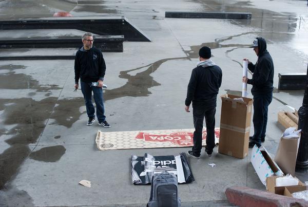 adidas Skate Copa NYC Setup