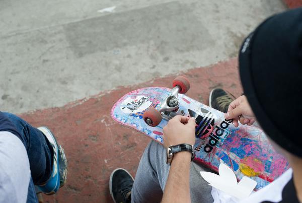 adidas Skate Copa NYC Hooked Up