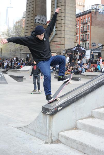 adidas Skate Copa NYC Fakie 5-0 Richie Rizzo
