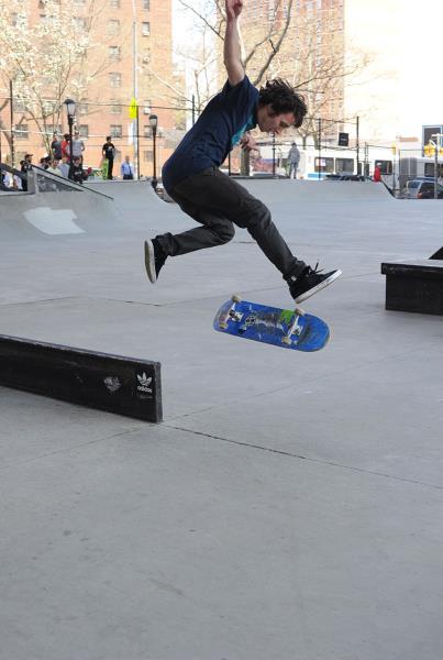 adidas Skate Copa NYC Mark Schwartz Feeble 360 Flip