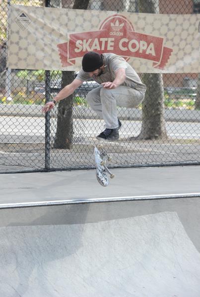 adidas Skate Copa NYC Jimmy Larsen Nollie Flip