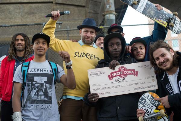 adidas Skate Copa NYC Labor Skate Shop Wins It