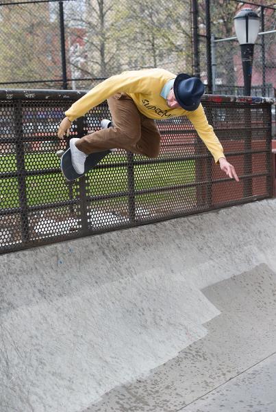 adidas Skate Copa NYC Gonz Wall Ride