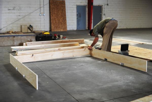 The Boardr TF Ledge Construction Box Base
