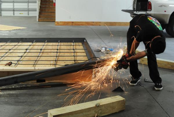 The Boardr TF Ledge Construction Sparks