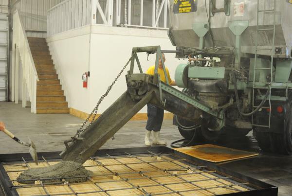 The Boardr TF Ledge Construction Concrete Pour